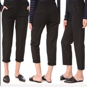 NEW • Vince. Solid Black Chino Pants.